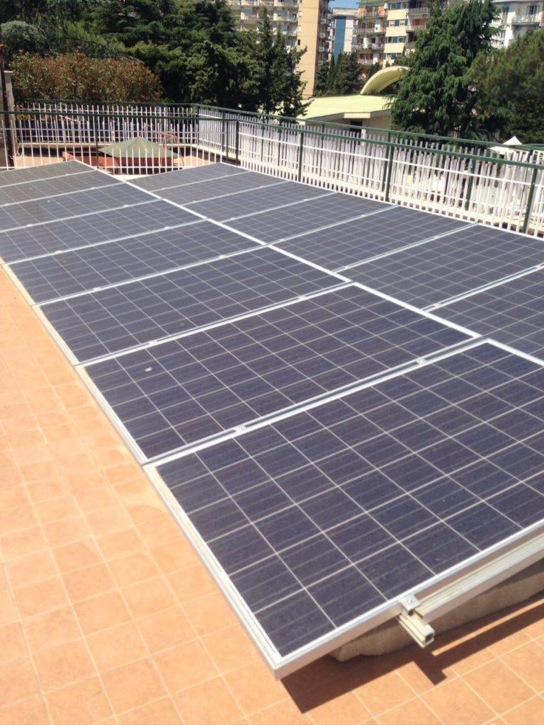 impianto solare termico fotovoltaico