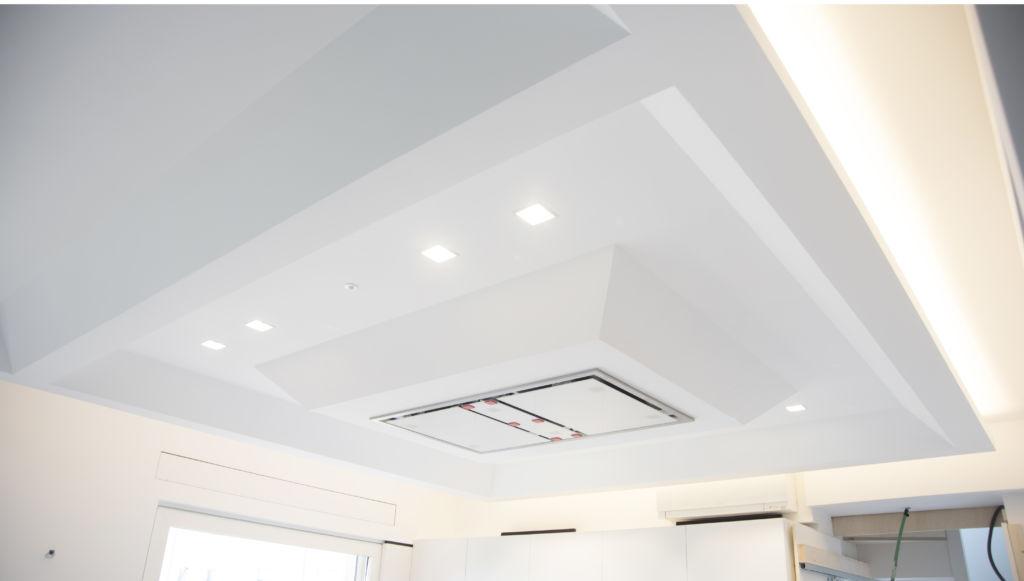 punti luce soffitto moderno