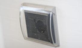 impianto elettrico esterno copertura presa